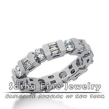Diamond Eternity Wedding Band by Sasha Fine Jewelry
