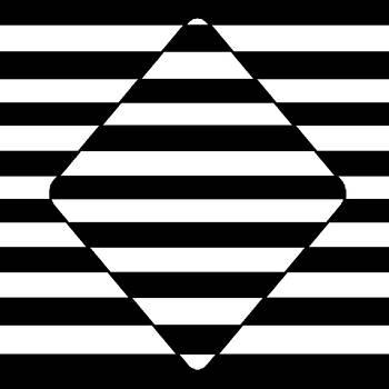 Diamond Optical Illusion for Blackjack Strategy by Casino Artist