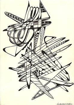 'Dimensional Wanderings'. by Lynda  Richardson