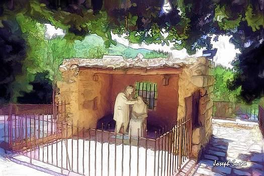 DO-00500 St Rafqa Statue by Digital Oil