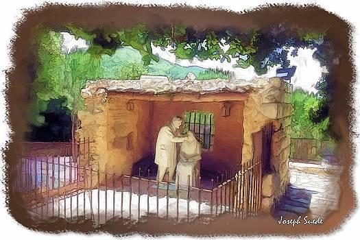 DO-00501 St Rafqa Statue by Digital Oil