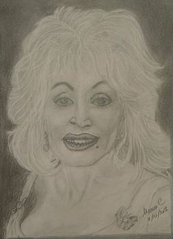 Dolly Parton by Manuela Constantin