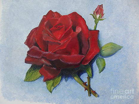 Donna's Rose by Pam Fries