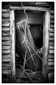 Door BW by Mark Wagoner