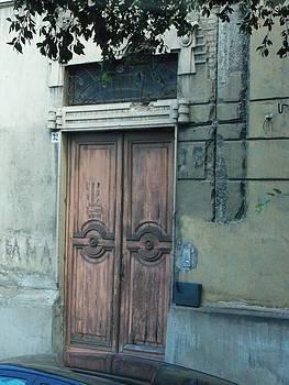 Door in Messina by Sandy Collier