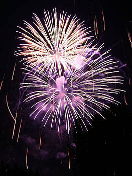 Double Fireworks by Monica Lahr