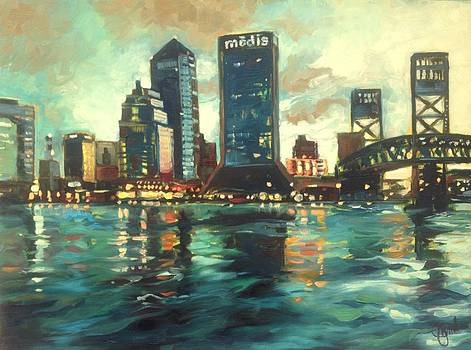 Downtown Jacksonville by Jami Childers