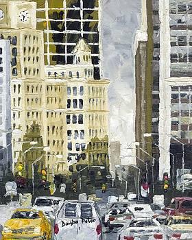 Downtown Manhattan by Dumba Peter