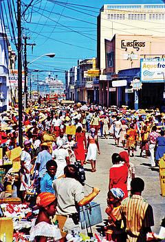 Johnny Sandaire - Downtown Port-au-Prince Haiti