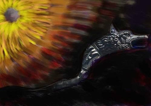 Dragon flower by Miu Dan Popa