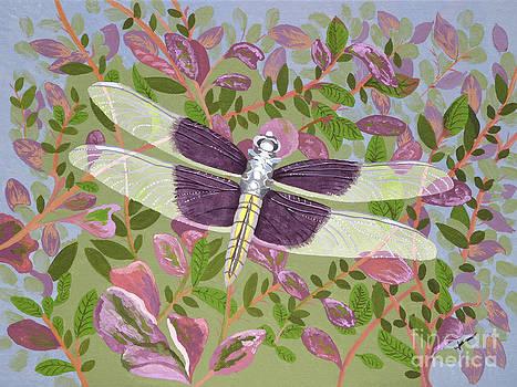 Dragonfly I by Jennifer  Donald