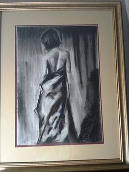 Dramatic Pose Study by Dalene Turner