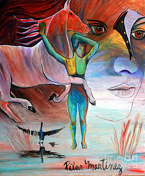 Dream World by Pilar  Martinez-Byrne