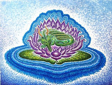 Dreaming Dragon Lotus by Andrew Zeutzius
