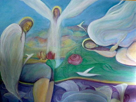 Dreaming Of Angels Dreaming by Margaret Pirrouette
