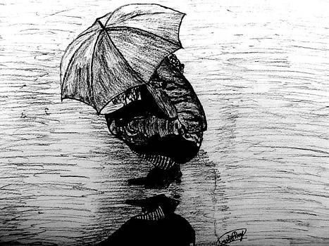Drenched Shadow by Rocky Malhotra