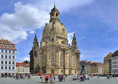 Dresden Frauenkirche by Travel Images Worldwide