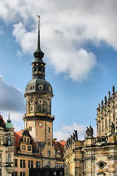 Christine Till - Dresden Hausmannsturm - Housemann Tower