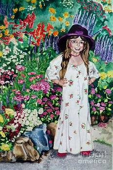 Dress Up in the Garden by LJ Newlin