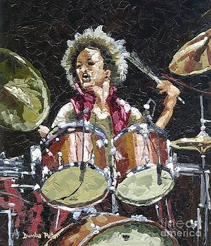 Drummer by Dumba Peter