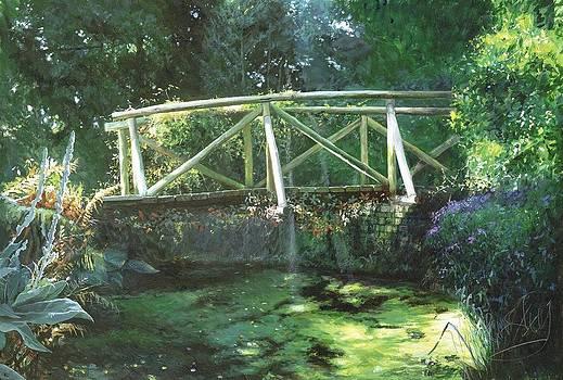 Dunham Massey Bridge by Helen Parsley