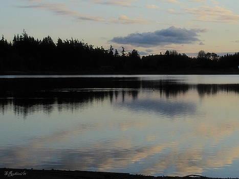 Sandy Rubini - Dusk on Deer Lake