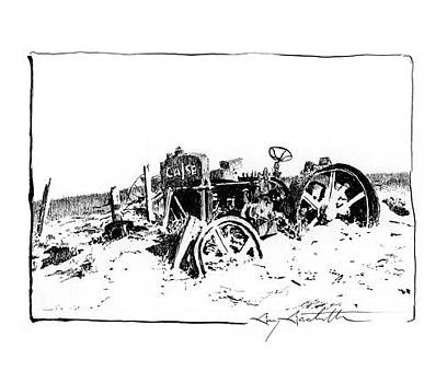 Dustbowl Tractor by Gary Gackstatter