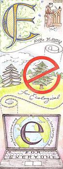 E is for Easy books by Jennifer Harper