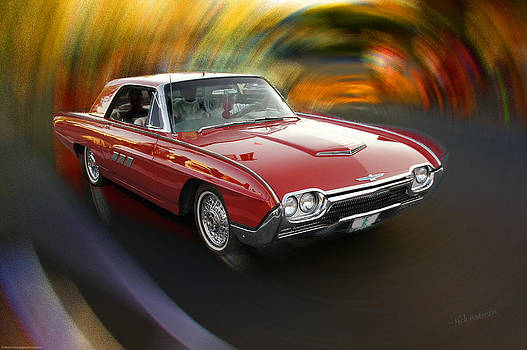 Mick Anderson - Early 60s Red Thunderbird