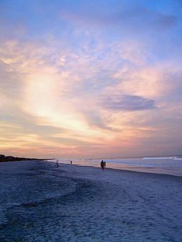 Patricia Taylor - Early Evening Beach Walk