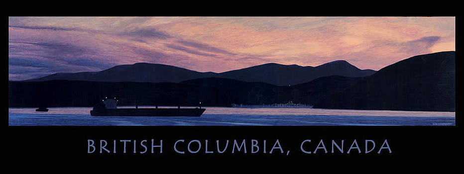 Early Morning B.C. Poster by Neil Woodward