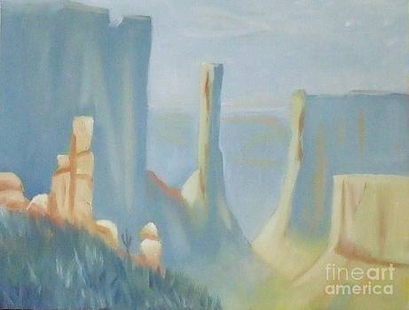Early Morning in the Canyon by Debra Piro