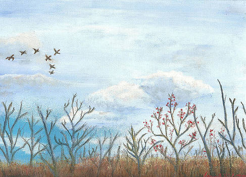 Early November by James Violett II