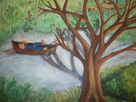 Early-Spring Nap by Brooke F Boyce