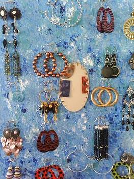 Earring Holder by Mary Swanegan
