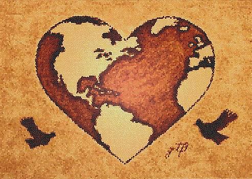 Earth Day Gaia Celebration digital art by Georgeta  Blanaru
