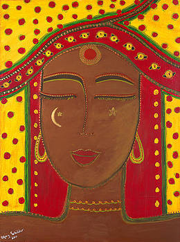 East Indian Goddess by Mary Schilder