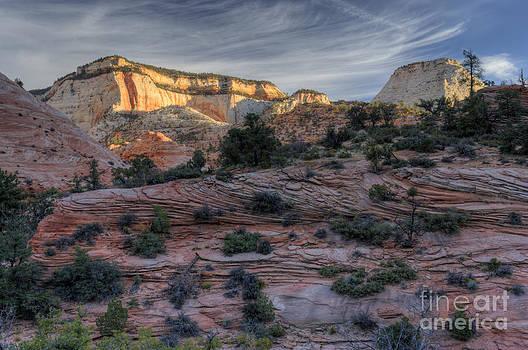 Sandra Bronstein - East Zion Canyon Sunrise