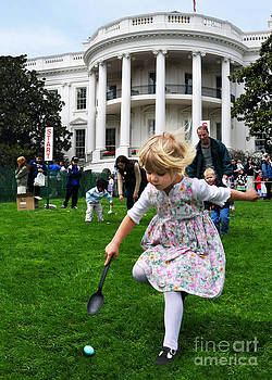 Easter Egg Roll by Jane Brack