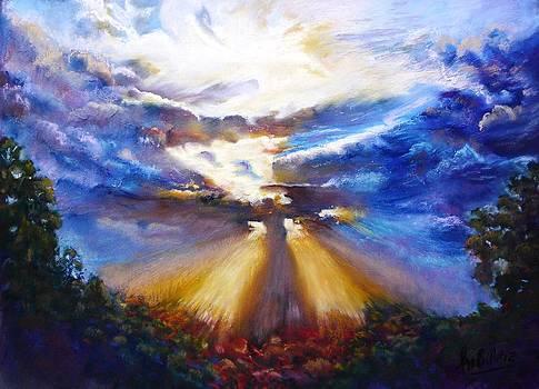 Easter Sunday. God's resurrection by Marieve Ortiz
