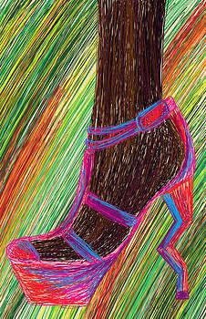 Kenal Louis - Ebony In High Heels