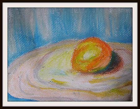 Egg Yolk by Foqia Zafar