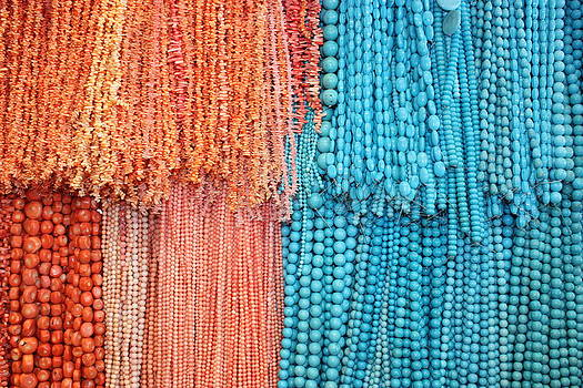Yvonne Ayoub - Egypt Coral and Turquoise from Mount Sinai Egypt