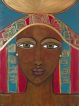 Egyptian Goddess by Mary Schilder