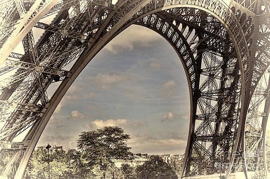 Chuck Kuhn - Eiffel Tower Up close III