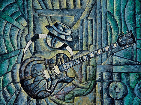Electric Blues Number Two by Andrew Hobson
