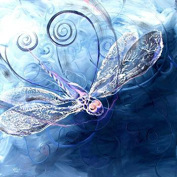 Electrified Dragonfly by J Vincent Scarpace
