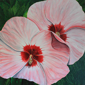 Eleven in Hibiscus by Robert Thomaston