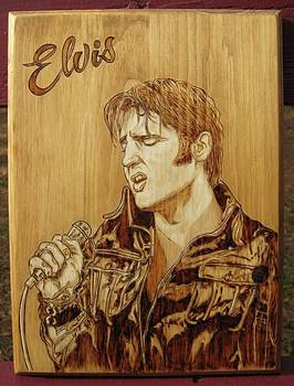 Elvis by Bob Renaud