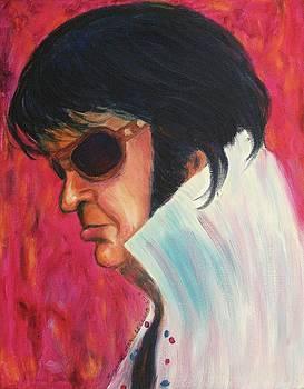 Suzanne  Marie Leclair - Elvis impersonator